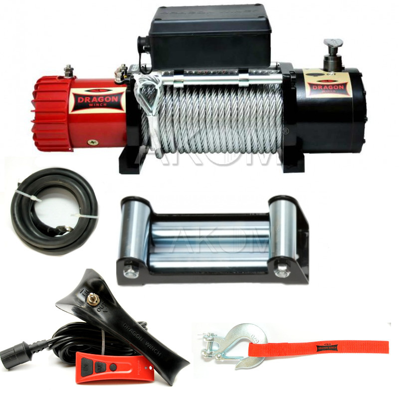 eb81c438c0e DRAGON WINCH MAVERICK 13000HD 12V 13000 lb / 5,9T HIGH QUALITY ...